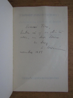Liviu Grasoiu - St. O. Iosif doinirea ca vocatie si destin (cu autograful autorului)