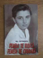 Anticariat: Nicolae Petrescu - Femeia te ridica. Femeia te coboara