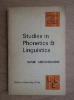 David Abercrombie - Studies in phonetics and linguistics