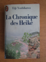 Eiji Yoshikawa - La chronique des Heike
