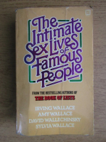 Irving Wallace, Amy Wallace - The intimate sex lives of famous people