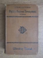L. Testut - Precis d'anatomie topographique (1907)