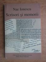 Nae Ionescu - Scrisori si memorii