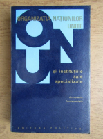 Anticariat: Organizatia Natiunilor Unite si institutiile sale specializate