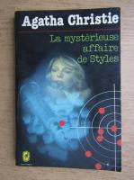 Anticariat: Agatha Christie - La mysterieuse affaire de Styles