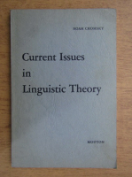 Noam Chomsky - Current issues in linguistic theory