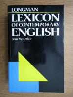 Anticariat: Tom McArthur - Longman lexicon of contemporary english