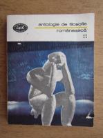 Anticariat: Antologie de filosofie romaneasca (volumul 4)