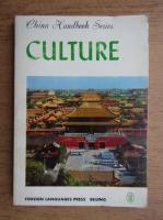 Anticariat: China handbook series, culture