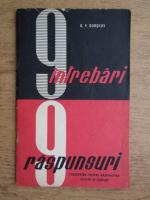 Anticariat: G. P. Gorskov - 9 intrebari, 9 raspunsuri