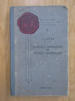 I. Lupas - Epocele principale in istoria romanilor (volumul 1, 1928)