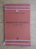 I. Popescu Voitesti - Notiuni de geologie (1943)