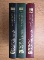 Constantin Hamangiu - Tratat de drept civil roman (3 volume)
