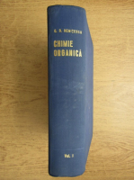 Anticariat: Costin D. Nenitescu - Chimie organica (volumul 1)