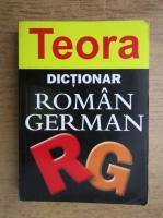 Anticariat: Eudoxiu Sireteanu - Dictionar roman-german