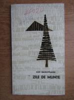 Anticariat: Ion Rahoveanu - Zile de munte