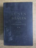 Lenin si Stalin despre constructia de partid (volumul 2)