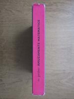 Anticariat: Martin Gardner - Amuzamente matematice