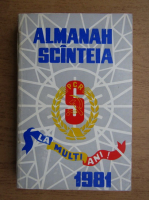 Anticariat: Almanah Scanteia 1981
