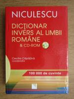Cecilia Capatina - Dictionar invers al limbii romane, 100 000 de cuvinte (contine CD)