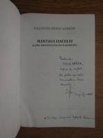 Valentin Hossu Longin - Mantaua Iancului si alte istorisiri, evocari transilvane (cu autograful autorului)