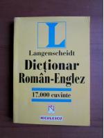 Dictionar Roman-Englez (17.000 cuvinte)