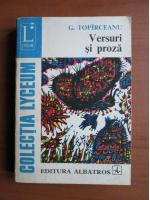 Anticariat: George Topirceanu - Versuri si proza
