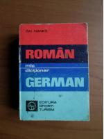 Anticariat: Gh. Hanes - Mic dictionar Roman-German