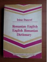 Anticariat: Irina Panovf - Romanian-English, English-Romanian dictionary