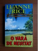 Luanne Rice - O vara de neuitat