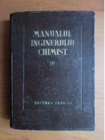 Anticariat: Manualul inginerului chimist (volumul 4)