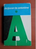 Marin Buca, O. Vintelor - Dictionar de antonime