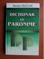 Nicolae Felecan - Dictionar de paronime