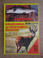 Anticariat: Almanah '93. Vanatorul si pescarul roman