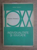 Anticariat: Dimitrie Todoran - Individualitate si educatie