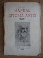 Anticariat: G. Oprescu - Manual de istoria artei (volumul 1, 1946)