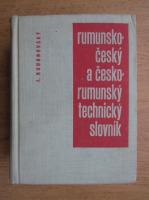 Jaroslav Kudrnovsky - Dictionar tehnic roman-ceh si ceh-roman