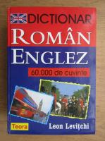 Anticariat: Leon Levitchi - Dictionar roman-englez. 60 000 de cuvinte