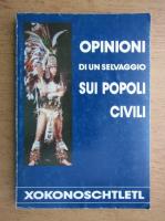 Anticariat: Opinioni di un selvaggio sui popoli civili