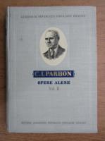 Anticariat: C. I. Parhon - Opere alese (volumul 2)