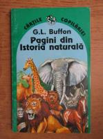 Anticariat: Georges Louis Leclerc Buffon - Pagini din istoria naturala