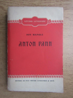 Anticariat: Ion Manole - Anton Pann