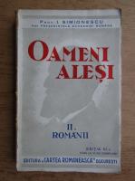 Ion Simionescu - Oameni alesi (volumul 2, 1944)