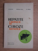 Anticariat: V. Runcan - Hepatite cronice si ciroze hepatice