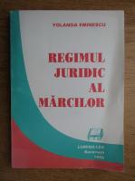 Yolanda Eminescu - Regimul juridic al marcilor