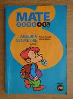Anticariat: Anton Negrila, Maria Negrila - Algebra, geometrie, clasa a VIII-a, partea I