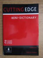 Anticariat: Cutting edge, mini-dictionary