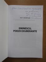 Dan Gradinaru - Eminescu, poezii exuberante (cu autograful autorului)