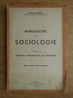 Eugeniu Sperantia - Introducere in sociologie (volumul 2, 1944)