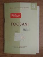 Harta geologica. Focsani (editie bilingva, contine harta)